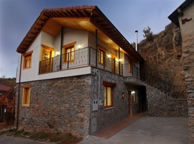 Casa rural aguas frias leon for Casas rurales modernas
